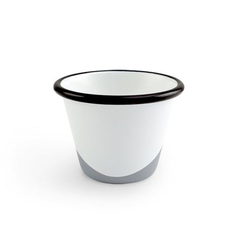 Enamel Dipped Cup, 850-Graphite