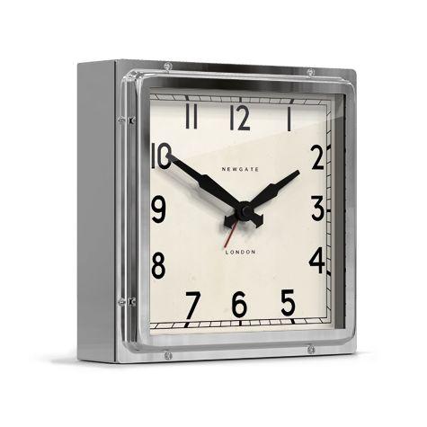 Mini Quad Clock, Chrome