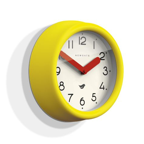 The Pantry Clock, Citrus Yellow