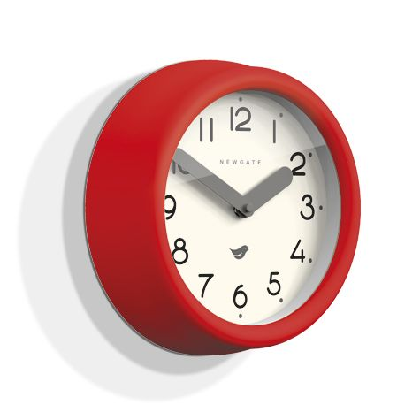 The Pantry Clock, Fire Engine Red