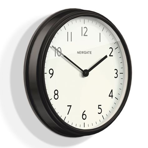 The Spy Clock, Matte Black