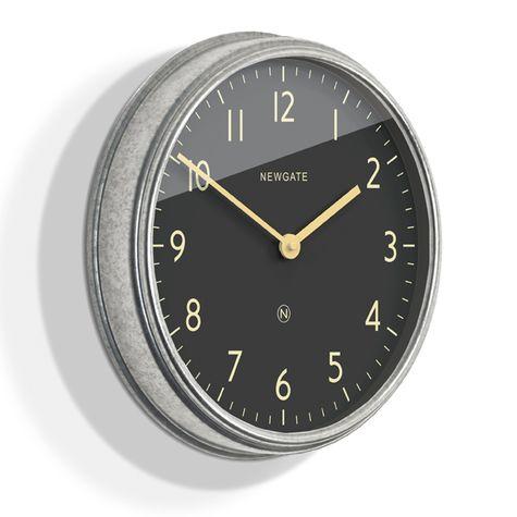 The Spy Clock, Galvanized Steel