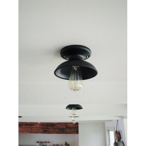 The Kao Flush Mount, 110-Black | Customer Submission