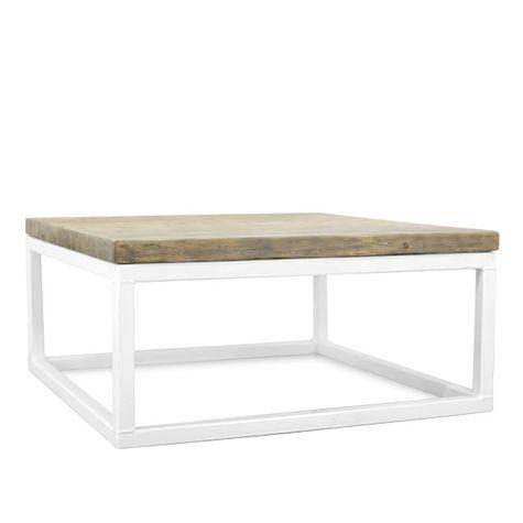 Beckett Coffee Table, DP1-Grey Wash Pine, 200-White