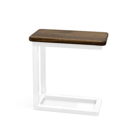 Magnolia End Table, NW-Natural Walnut, 200-White