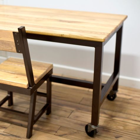 Calvin Community Table & Mitchell Chair