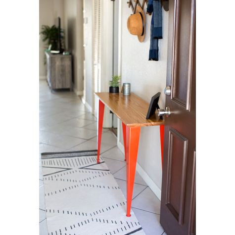 June Entryway Table, GP-Golden Pine (No Longer Available), 420-Orange