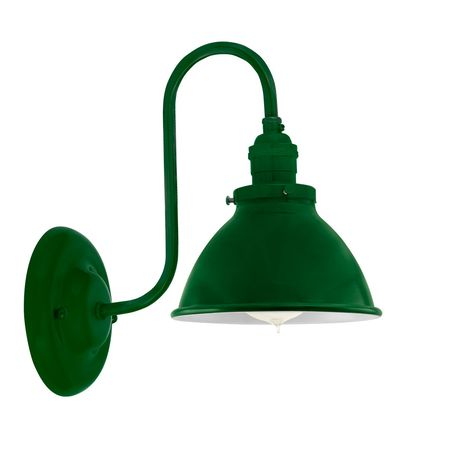 """6"""" Getty Sconce, 307-Emerald"""