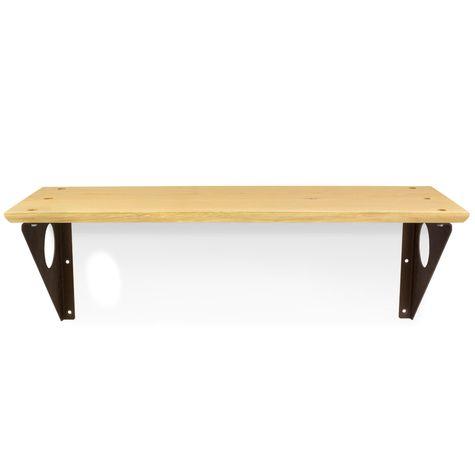 Winston Wall Shelf, GP-Golden Pine, 605-Rust