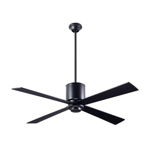 Lapa Ceiling Fan, Dark Bronze, Black Blades